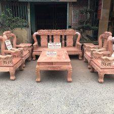 bàn-ghế-minh-quốc-voi-gỗ-hương-đá